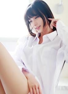 台湾清纯美女蔡译心白衬衫私房诱人高清写真套图