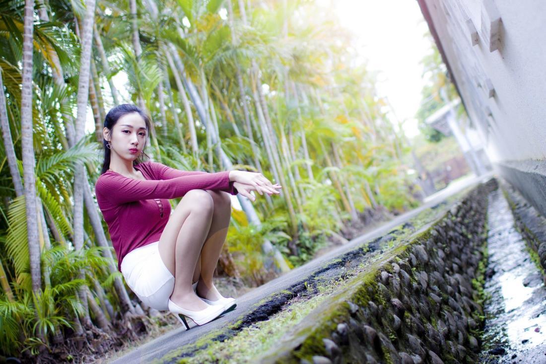 台湾清纯美女模特段璟乐超性感高清写真套图