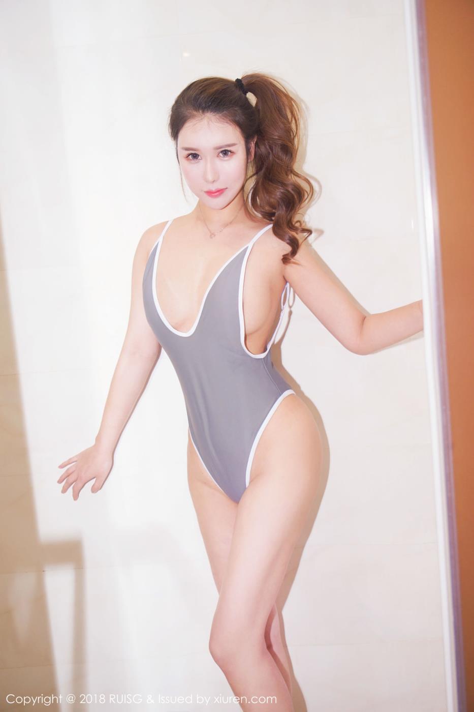 瑞丝馆美女模特尤妮丝内衣诱惑超性感写真套图