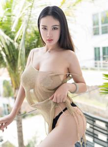 魅妍社美女模特易阳Silvia丰臀巨乳私房写真套图