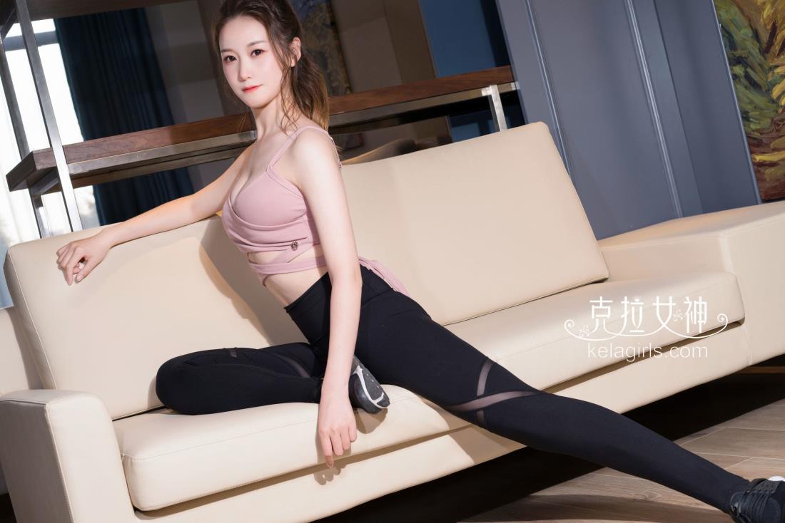 克拉女神清纯气质美女杨暖功夫瑜伽高清写真图片