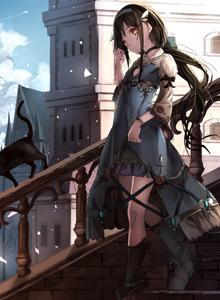 黑猫美少女特辑 动漫制服美女萝莉喵娘图片大全