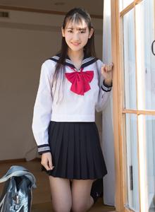 日本清纯美女近藤麻美学生妹校服装写真图片