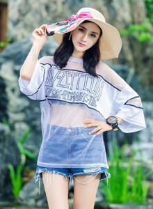 御女郎模特梅哥清纯美女身材高挑时尚性感写真图片