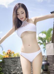 尤蜜荟Yumi-尤美性感比基尼美女巴厘岛旅拍写真套图