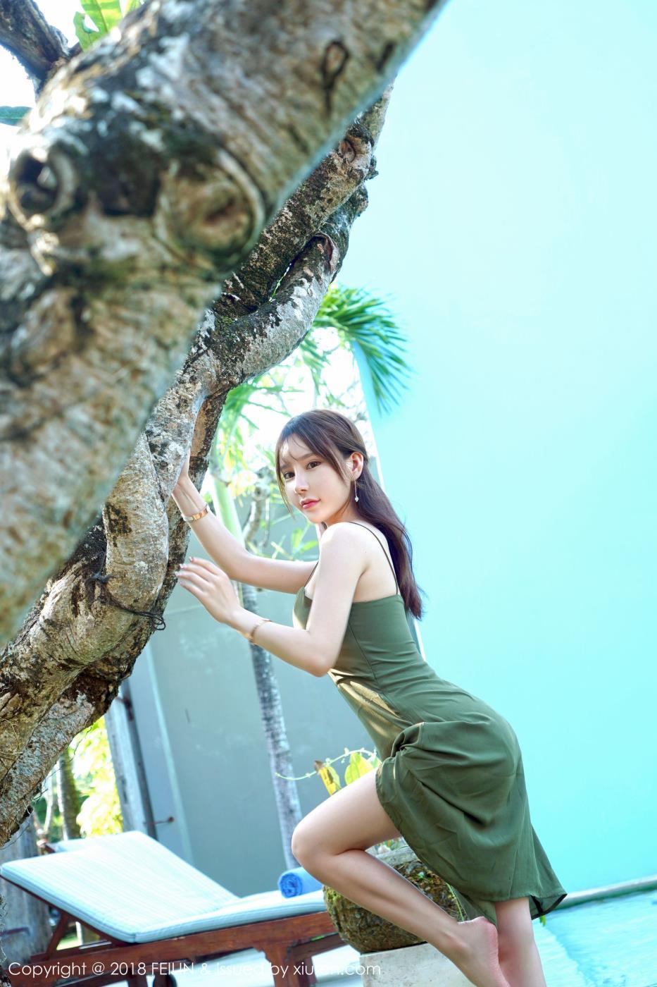 嗲囡囡性感美女周于希dummy沙滩极品御姐写真图片
