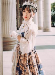 Lolita洛丽塔法国巴黎街头小清新美女唯美摄影写真