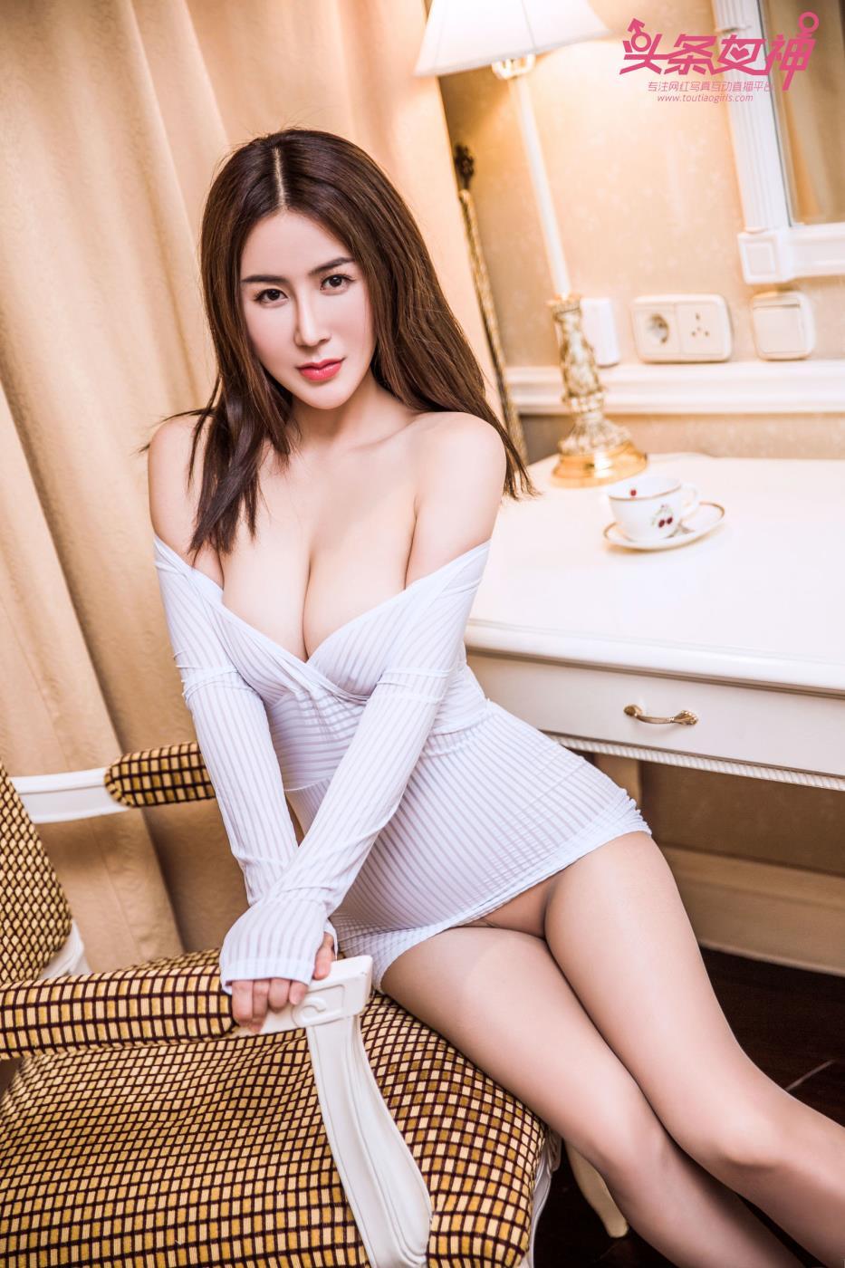 头条女神美女模特温婉御姐控修长美腿大尺度写真套图