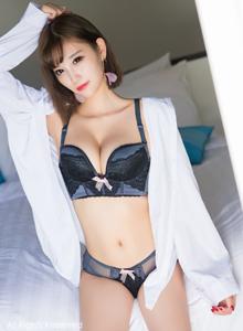 秀人网性感嫩模杨晨晨sugar白衬衫蕾丝内衣诱人旅拍写真