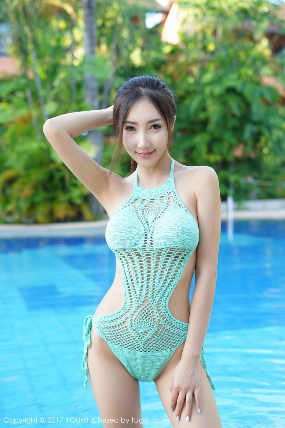 性感比基尼美女模特Yumi-尤美娇艳身姿旅拍写真图片