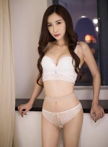 爱蜜社嫩模美女主播孙梦瑶酥胸诱人丝袜美腿大尺度写真