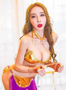 果团网性感女神曾水异域风情酥胸尤物撩人写真套图