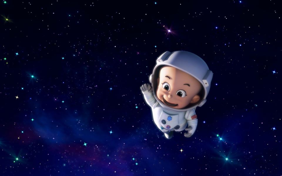 新大头儿子小头爸爸精选太空人系列卡通图片大全