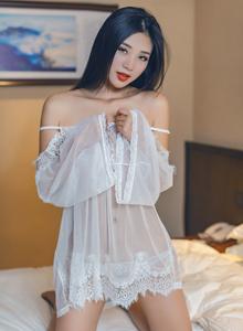 秀人网宅男女神宋KiKi蕾丝内衣诱惑真空大尺度写真