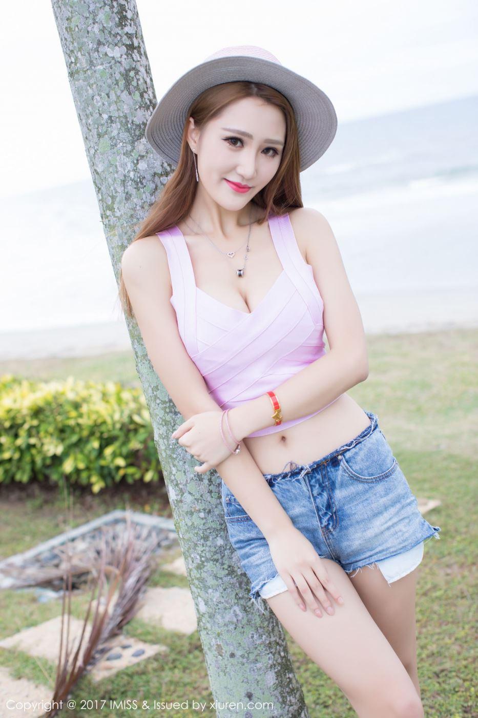 时尚气质美女嫩模妤薇Vivian清纯靓丽唯美写真套图