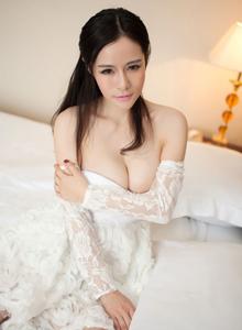丰满巨乳性感美女嫩模Nancy小姿情趣内衣诱惑写真