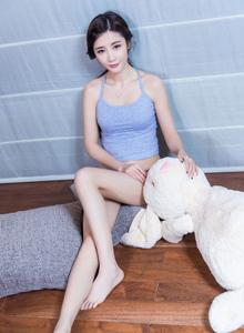 头条女神苏凉甜美可爱清纯女神修长美腿诱惑写真套图