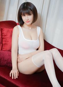白皙萌妹子童颜巨乳嫩模K8傲娇萌萌丝袜美腿主题写真