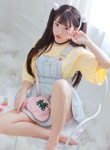 SSIdol少女偶像团体成员孔雯清纯可人萌妹子写真
