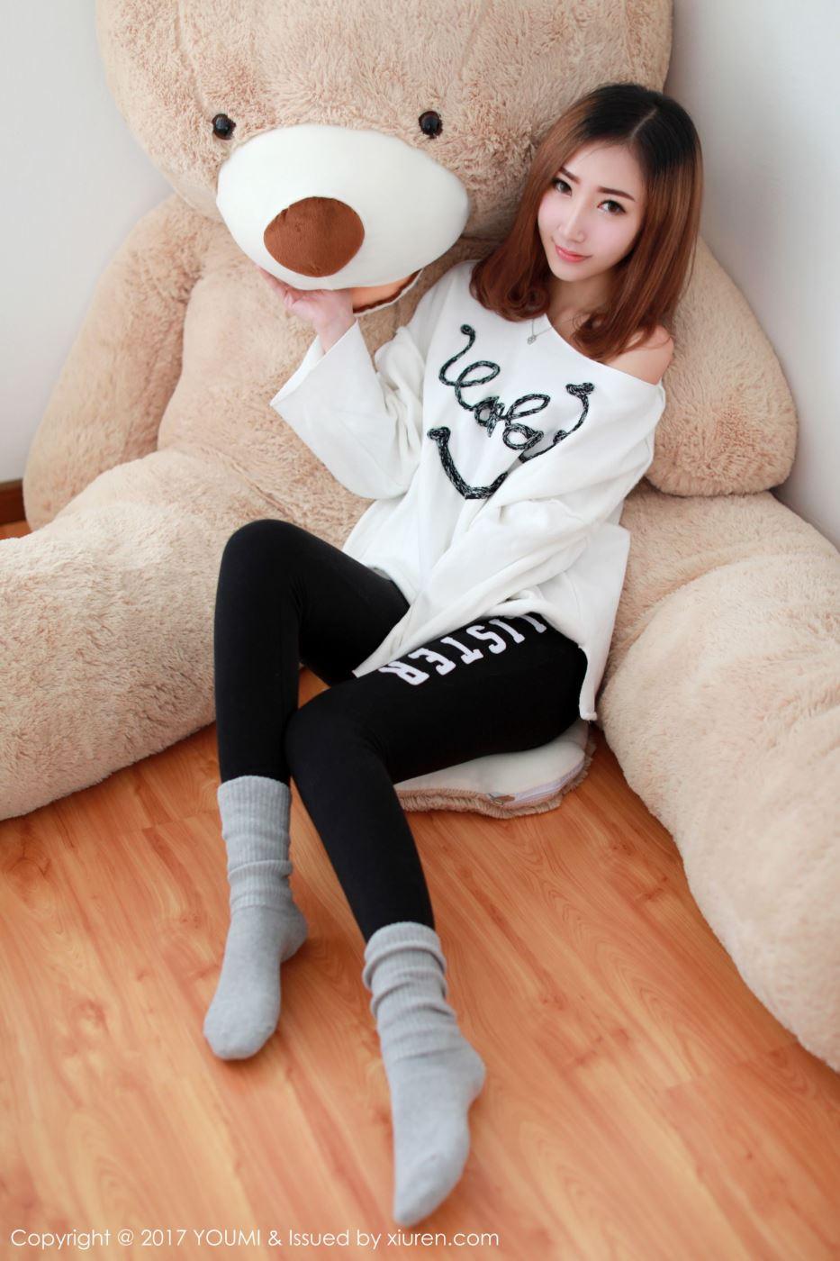 性感清纯美女嫩模Yumi尤美妩媚时尚超高清写真图片