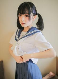 清纯萝莉美少女糯米甜宝宝JK制服捆绑大尺度写真套图