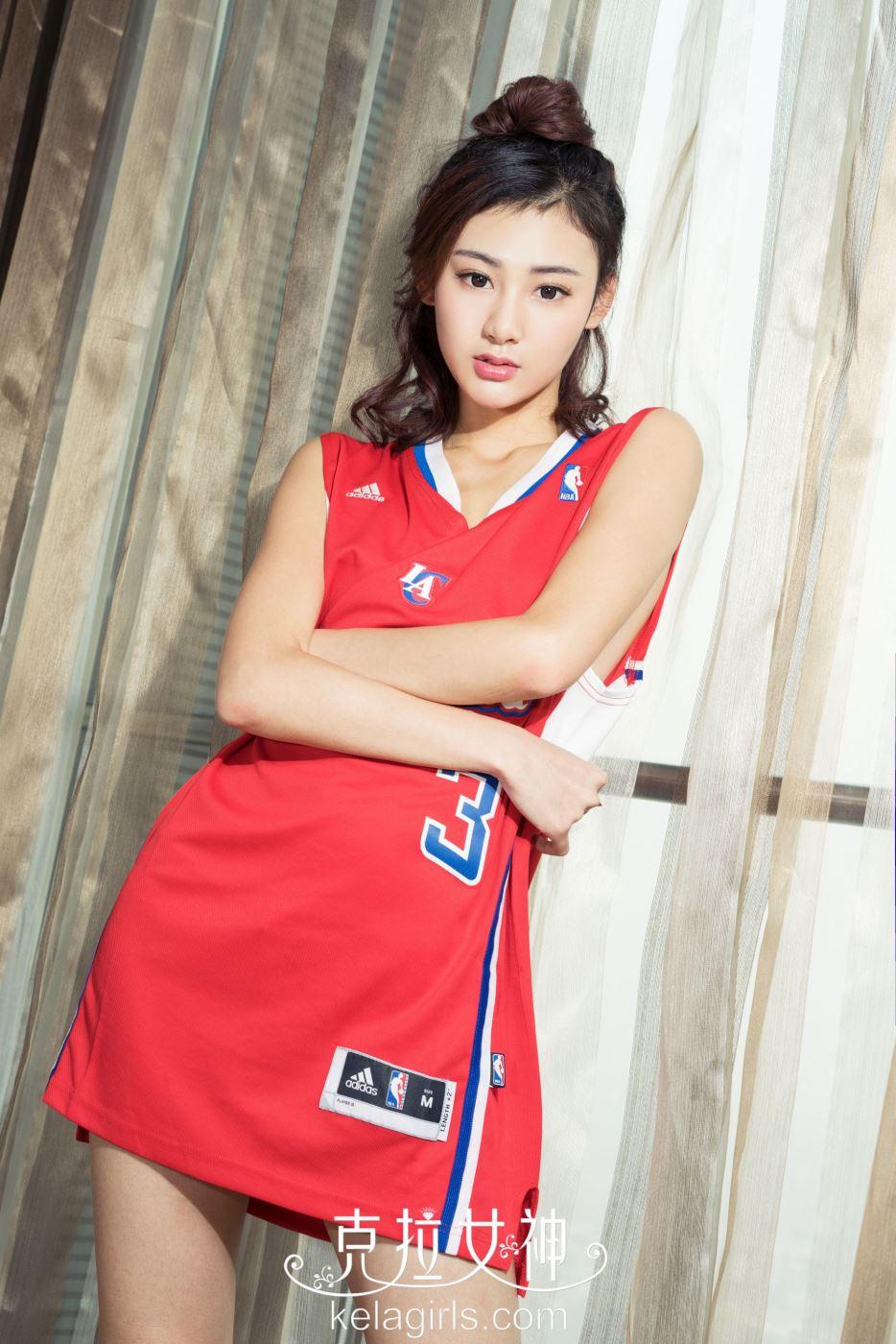 体育美女篮球宝贝冉宝长腿女神大美臀高清美女图片