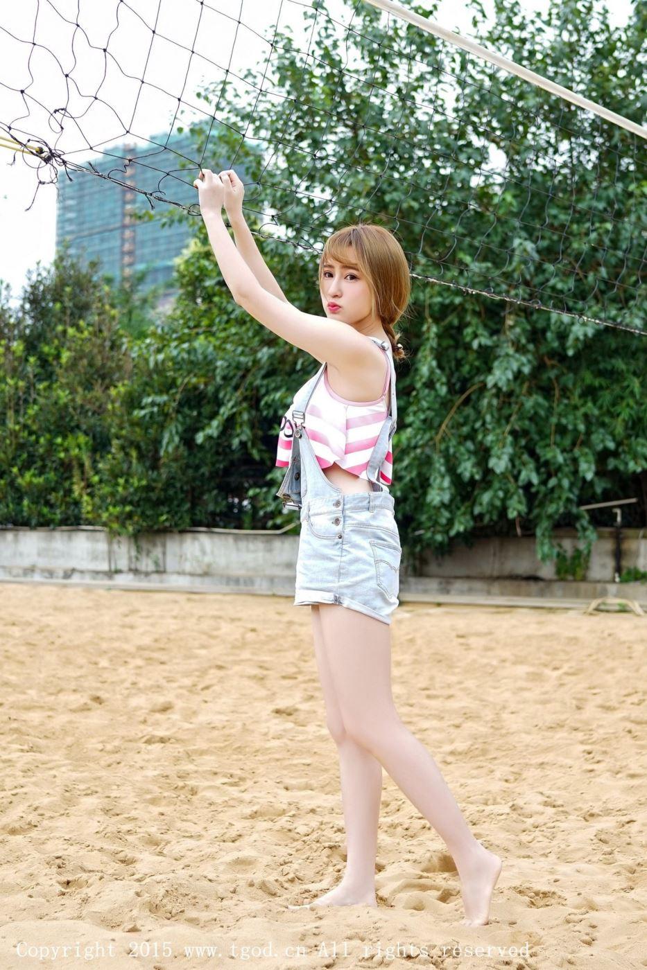 推女神清纯可爱美女模特陈雨涵普吉岛环球旅拍写真图片