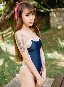 波萝社VOL.084夏美酱死库水童颜巨乳萝莉美女写真图片