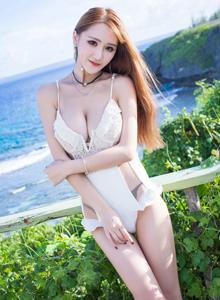 愛蜜社VOL.184氣質美女妤薇Vivian小蠻腰蕾絲女神妖媚寫真