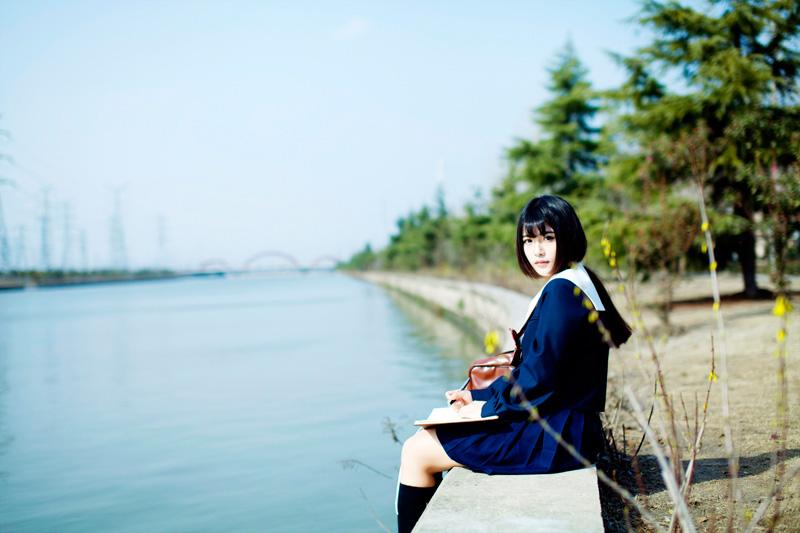 日系校花美女可爱小萝莉JK制服小清新少女写真图片