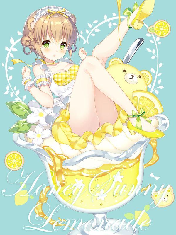 柠檬主题动漫美少女高清唯美图片