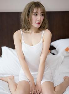 日系美女尤蜜荟模特松岛拉面君蕾丝小清新女神写真