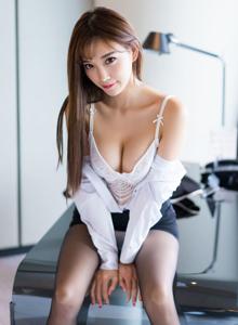 性感职场OL制服美女杨晨晨黑丝美腿诱惑无限福利图片