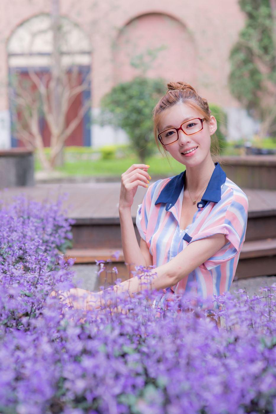 台湾校花美女kila晶晶少女心主题小清新女神唯美写真图片