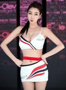 北京車展推女郎車模美女性感身材誘惑攝影寫真圖片