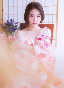 如梦如幻清纯可爱小仙女樱花和服主题系列唯美写真图片