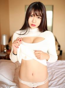 90后性感巨乳萌妹子哈妮HaaNi开胸内衣诱惑私房写真照