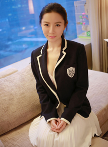 学院风校园女神慕羽茜制服诱惑清纯气质美女图片