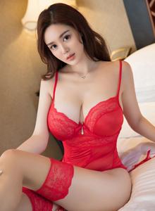 星颜社Vol.080巨乳女神易阳Silvia惹火身材性感丝袜诱惑写真