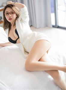 秀人网性感美女黄楽然女秘书职场OL装丝袜高跟鞋私房写真集