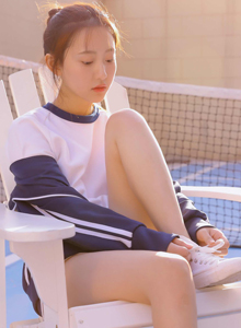 运动服校园美女小清新体操服校花女神唯美写真图片