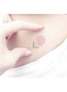 小女生胸口简约小清新文艺纹身图片大全