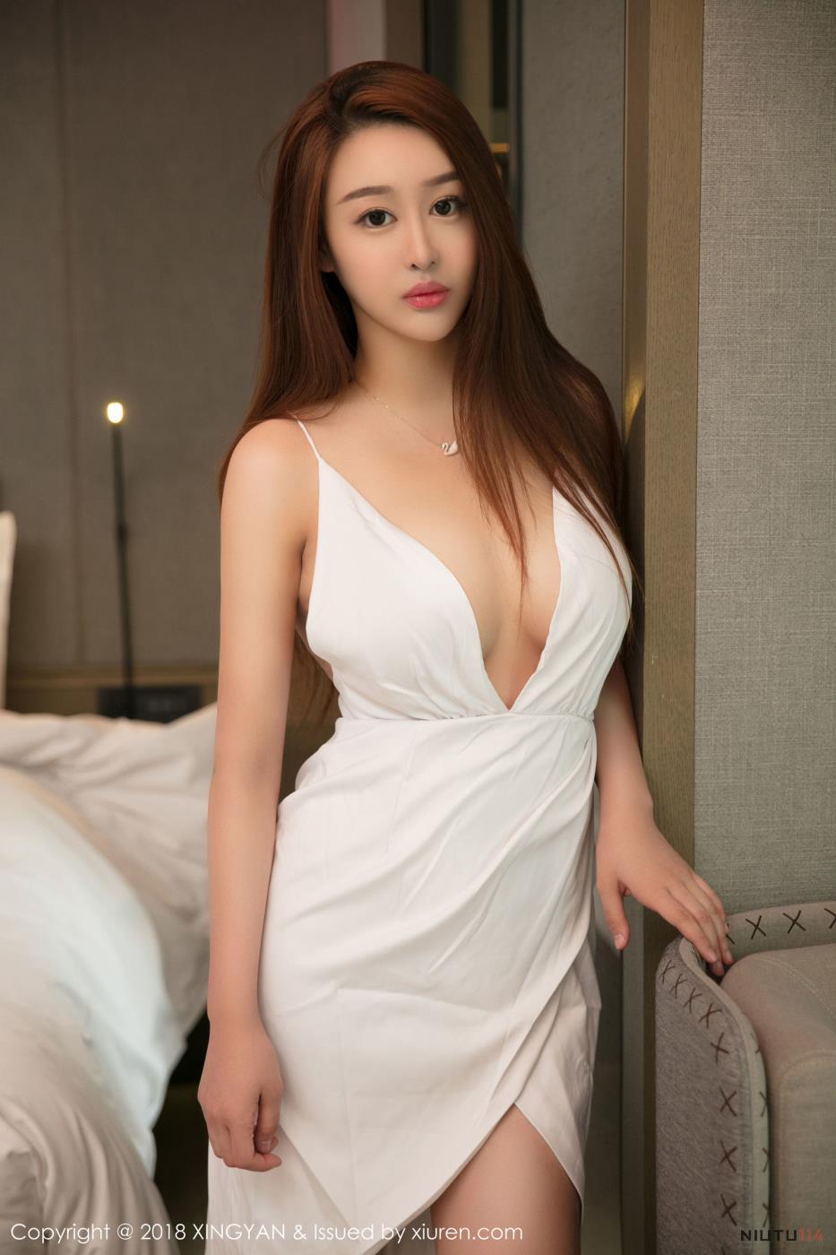 星颜社性感美女金禹熙丰满巨乳御姐内衣诱惑写真