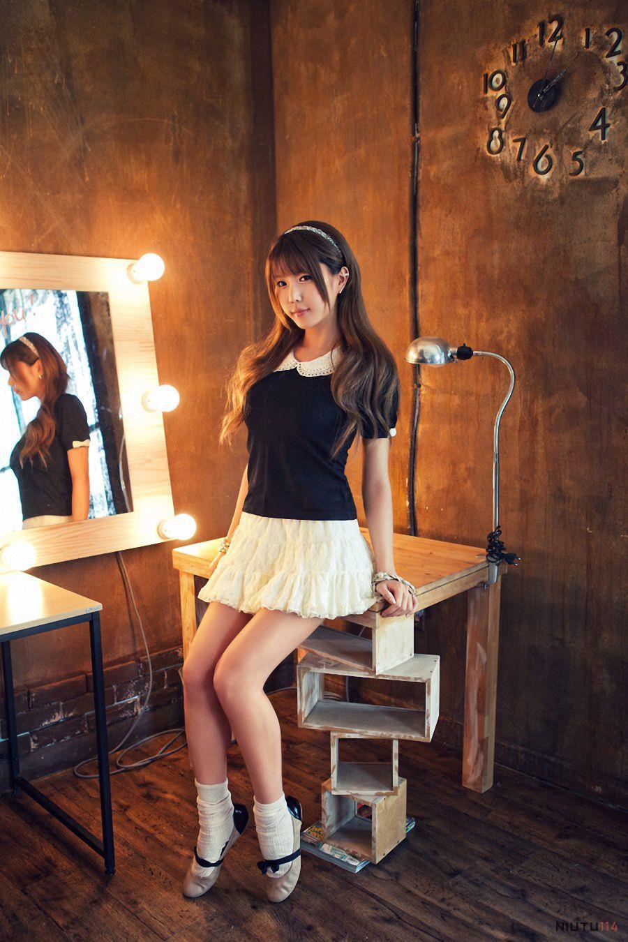 韩国妹子清纯可爱美女许允美高清私房美女写真图片
