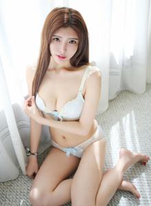 性感美女嫩模夏小秋秋秋MyGirl美媛馆室内私房美女写真照