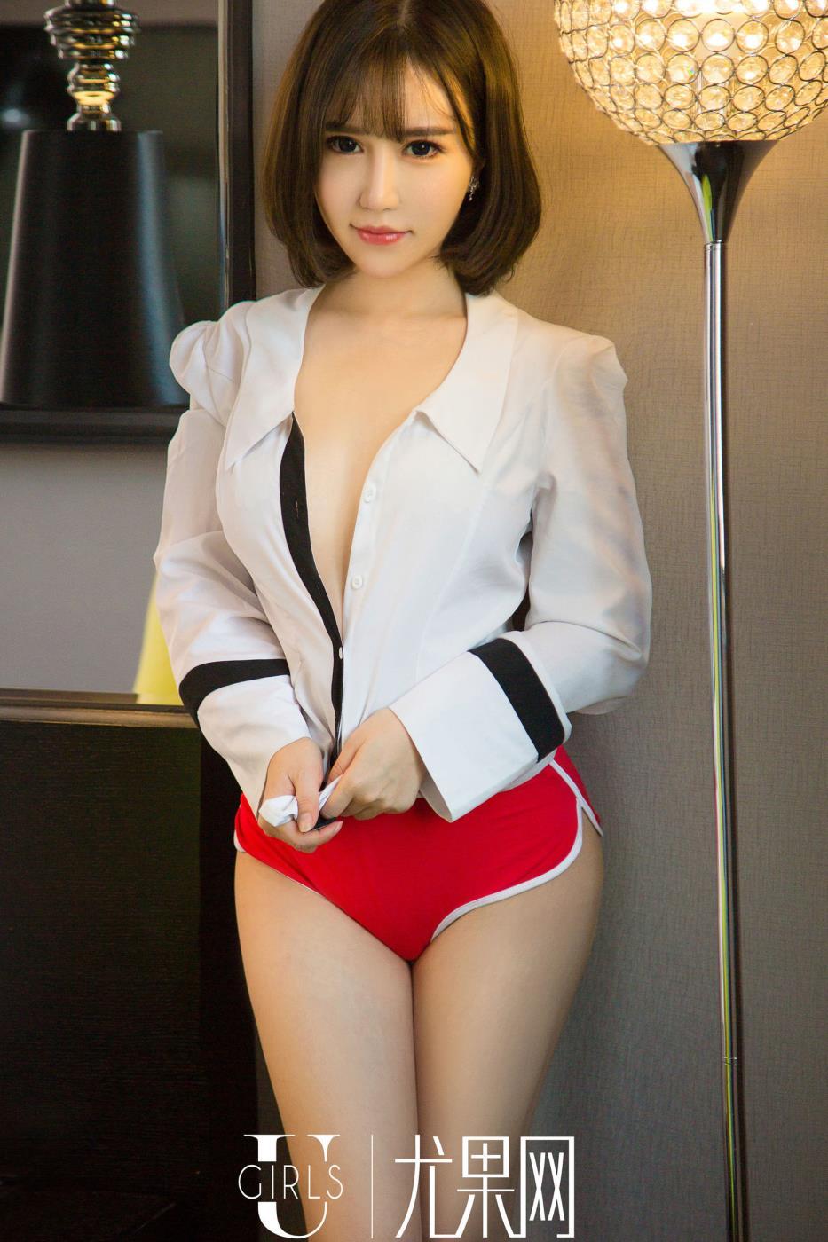 撩人小姐姐韩恩熙身材火辣尤果网短发性感美女图片
