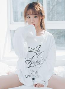 尤物姐妹花柳侑绮夏美酱体操服白衬衫私房无圣光美女写真套图