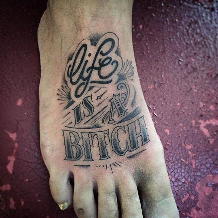 男生纹身图片 英文字母纹身图案大全