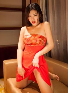 秀人网luvian本能古风美女主题大尺度傲人巨乳私房照