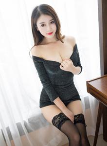 性感黑丝诱惑女神美腿图片 魅妍社赵小米Kitty私房照